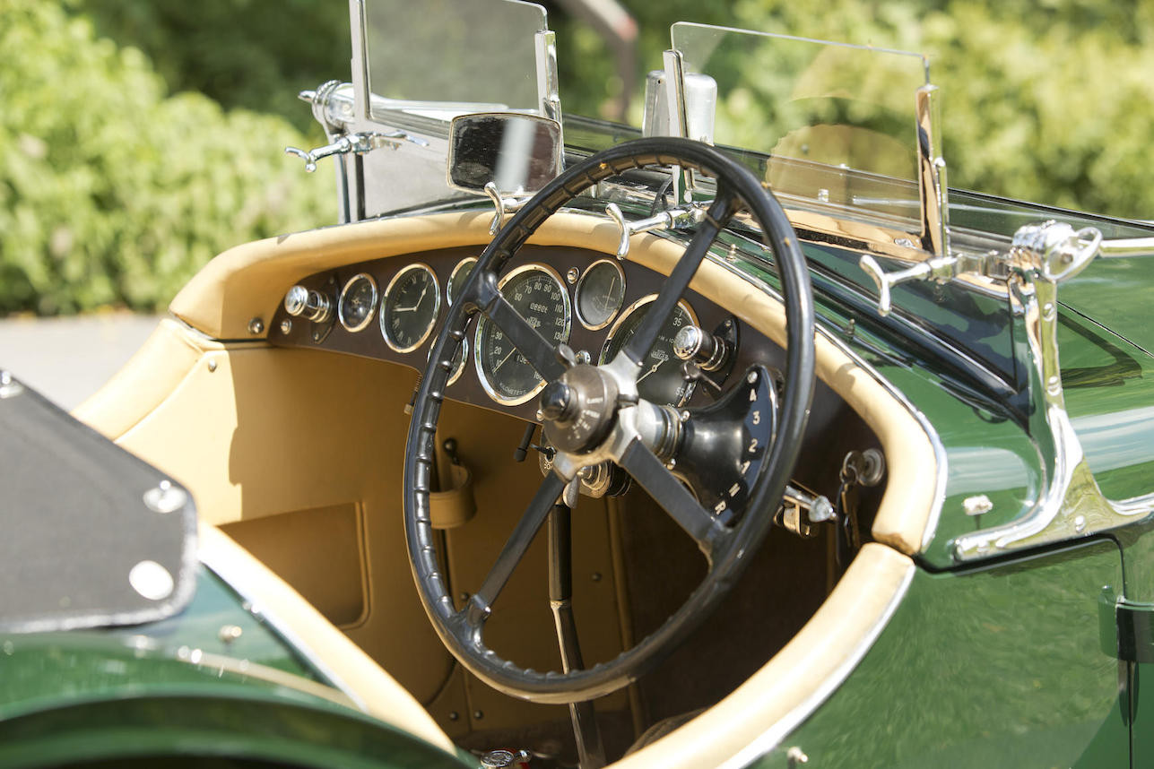 The Wilson Pre-Selector gearbox is not an automatic nor is it a precursor to the automatic gearbox. (Picture courtesy Bonhams).