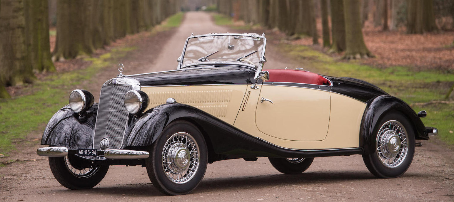 This Mercedes-Benz 170V is one of only eleven known to still exist. (Picture courtesy Bonhams).