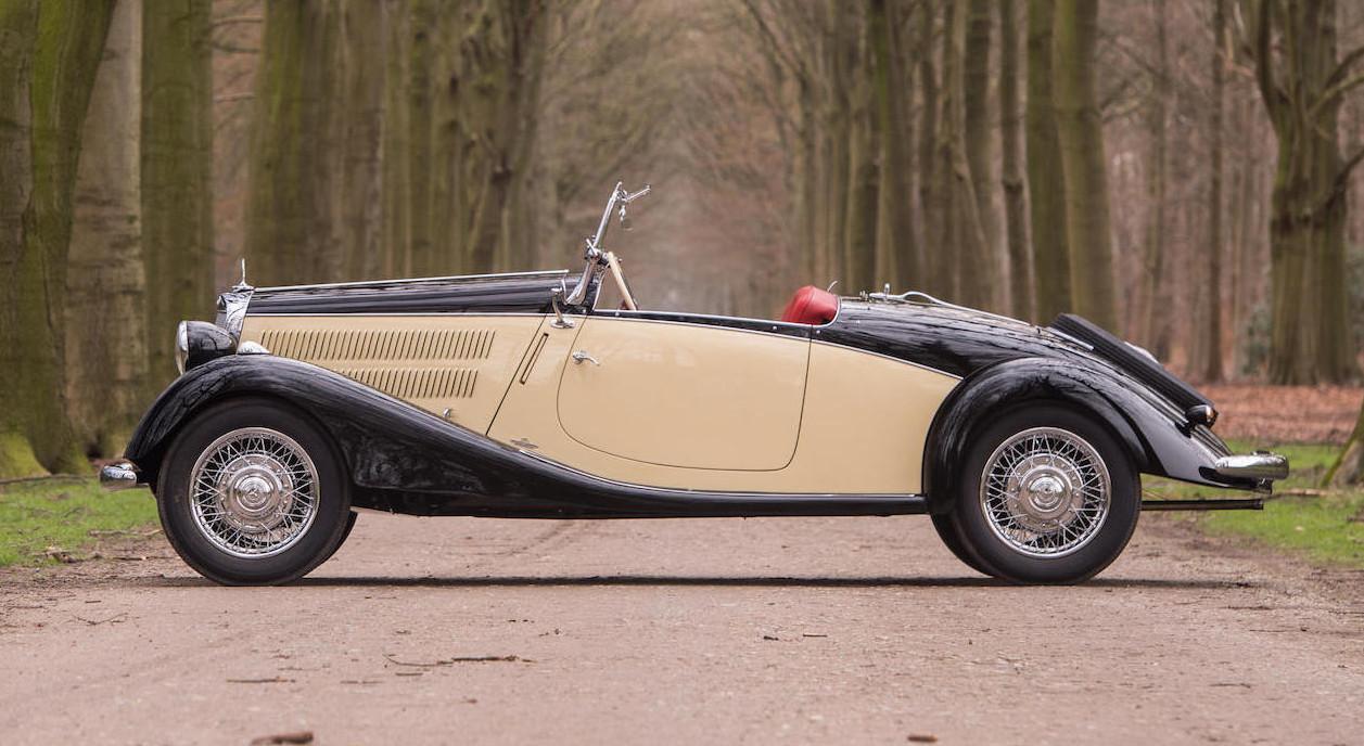 1939 Mercedes Benz 170 V Sport Roadster Revivaler
