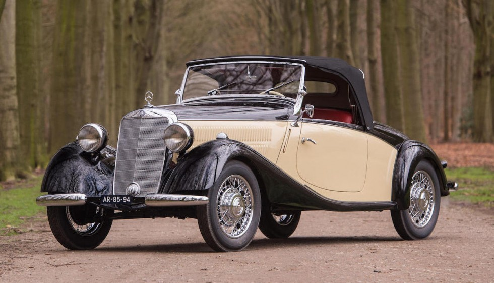 1939 mercedes benz 170 v sport roadster revivaler. Black Bedroom Furniture Sets. Home Design Ideas
