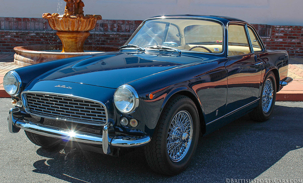 Looking nothing like a TR3 the Triumph Italia looks like an Italian sports car. (Picture courtesy britishsportscars.com).