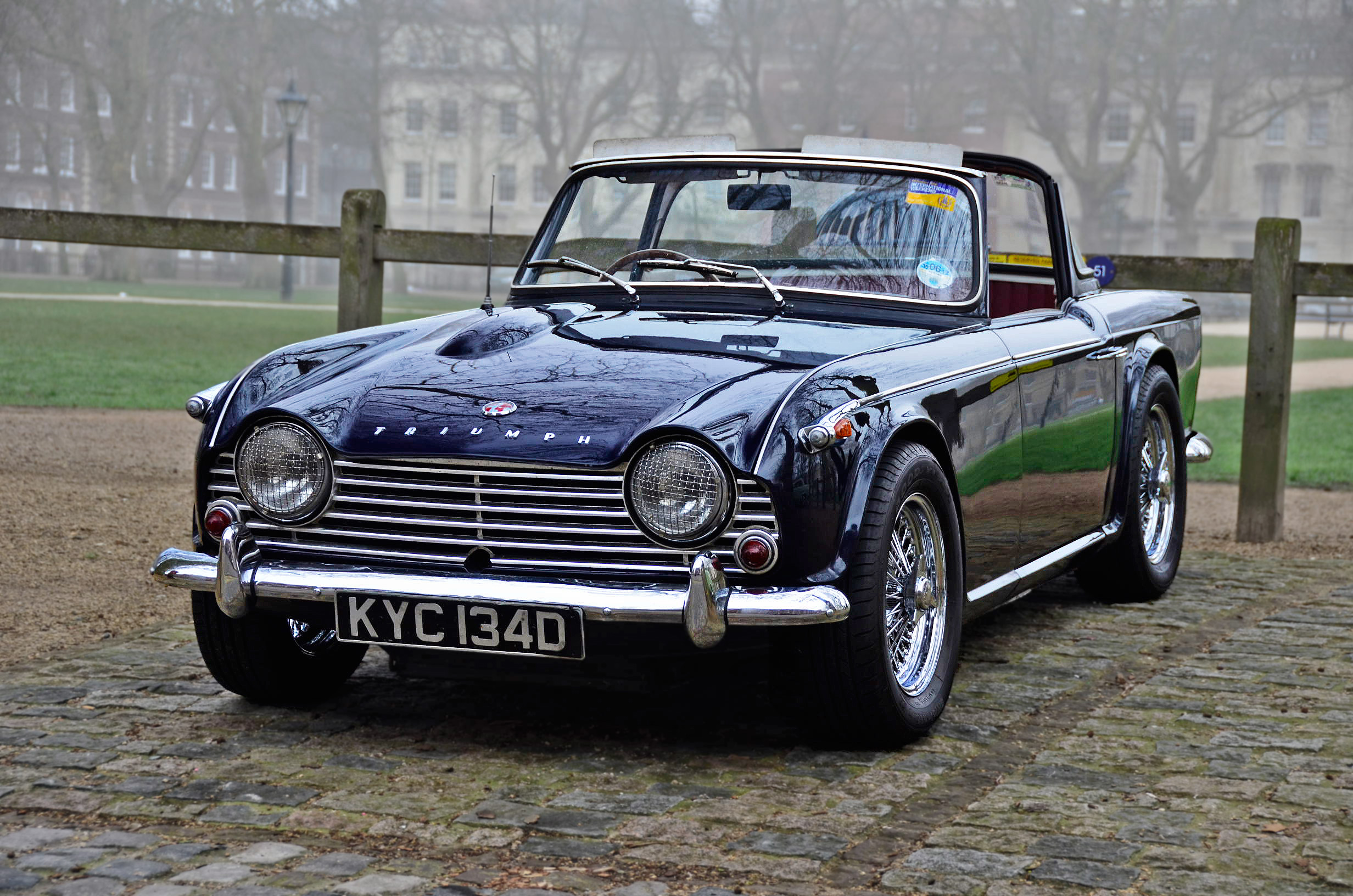 1961 And 1962 Triumph Italia 2000 Gt Revivaler