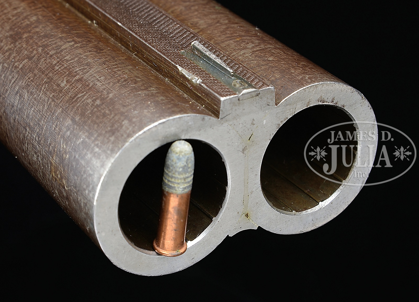 "The four bore adds a whole new dimension to the idea of ""big bore"". (Picture courtesy James D. Julia Inc.)."