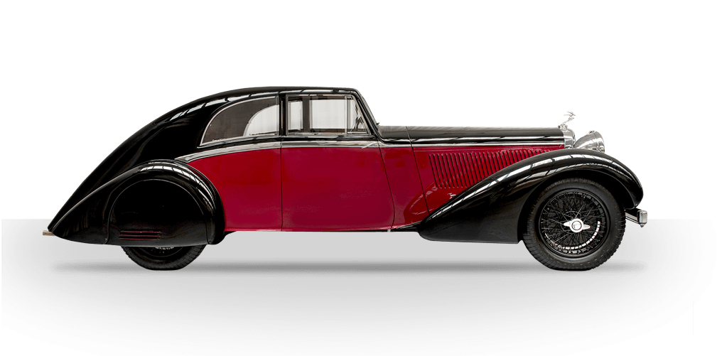 The Alvis Bertelli Coupé. (Picture courtesy Alvis Car Company).