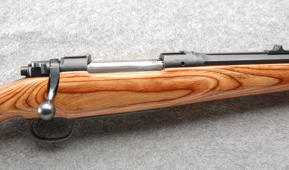 This rifle, built on a magnum Mauser action and has a laminated stock for stability. (Picture courtesy Cabela's).