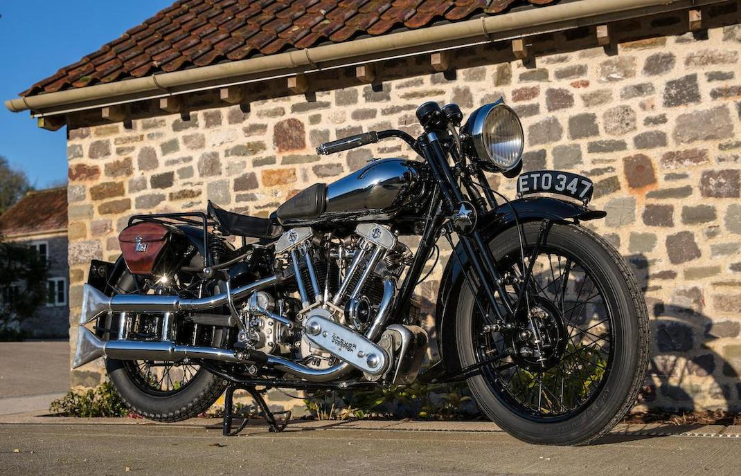 Brough Superior SS100: Ex Henry Laird-10