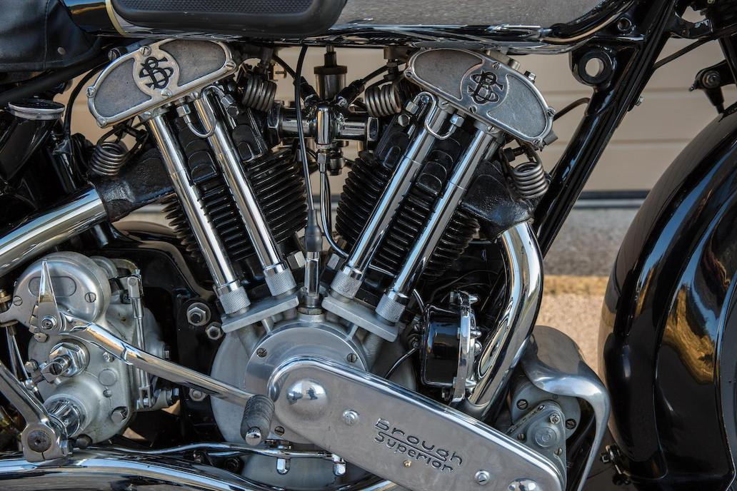 Brough Superior SS100: Ex Henry Laird-12