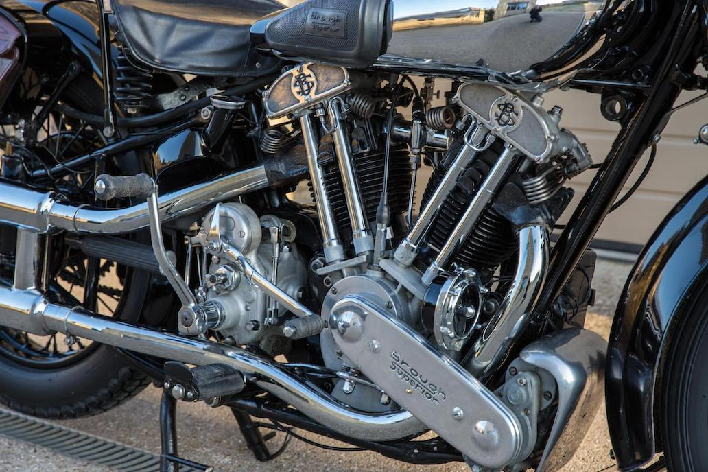 Brough Superior SS100: Ex Henry Laird-13