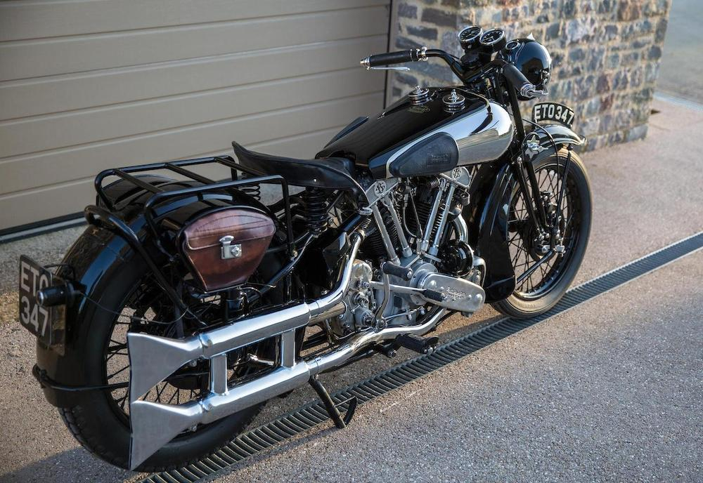 Brough Superior SS100: Ex Henry Laird-14