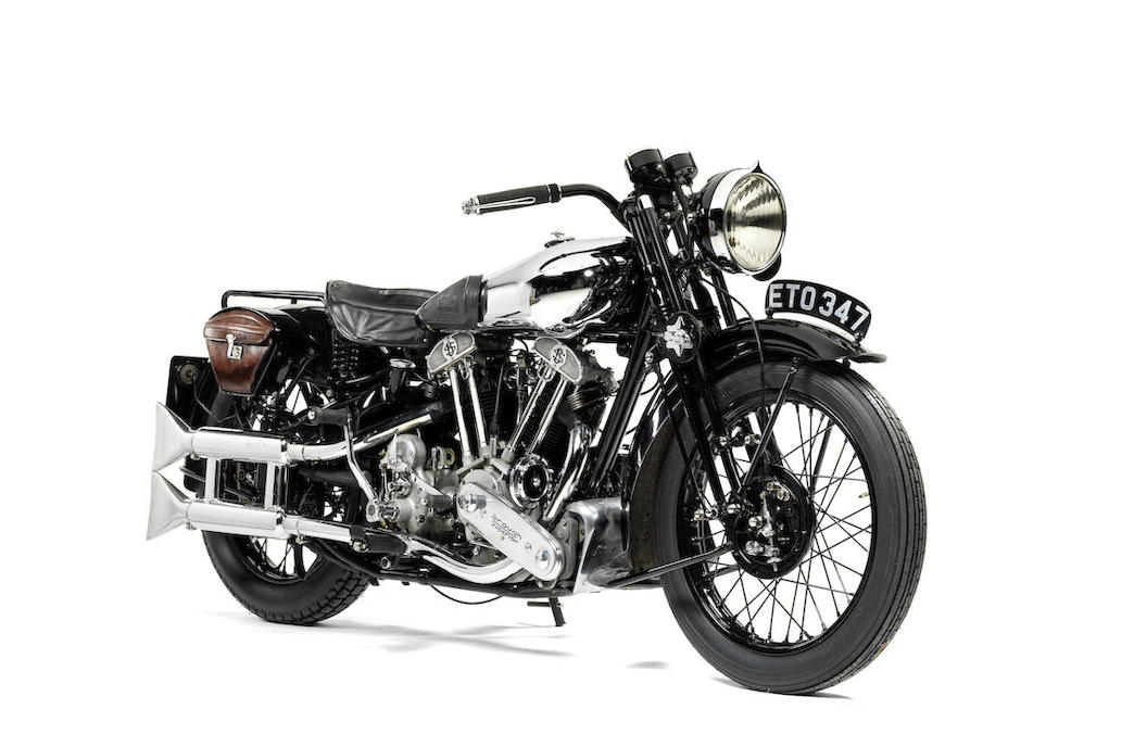Brough Superior SS100: Ex Henry Laird-2
