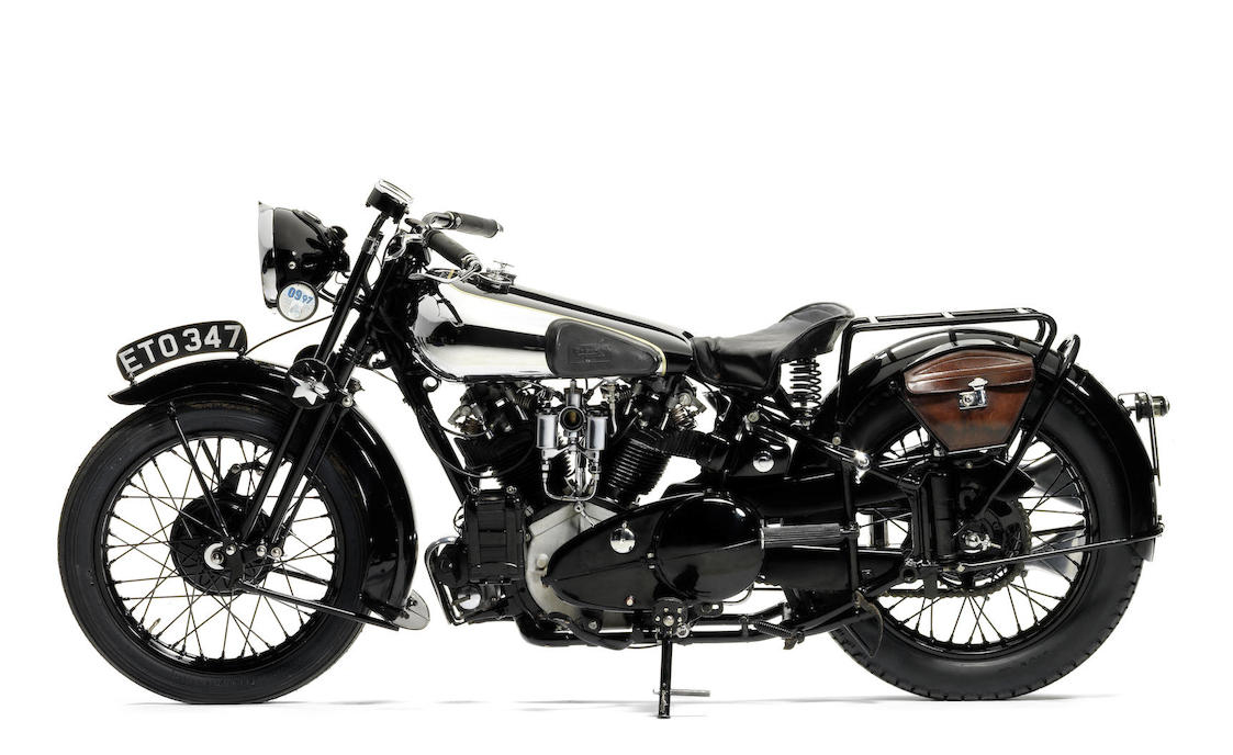 Brough Superior SS100: Ex Henry Laird-3