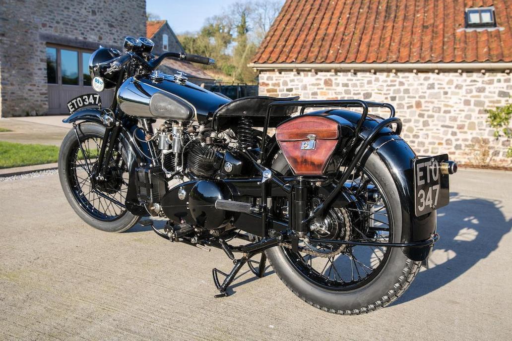 Brough Superior SS100: Ex Henry Laird-4