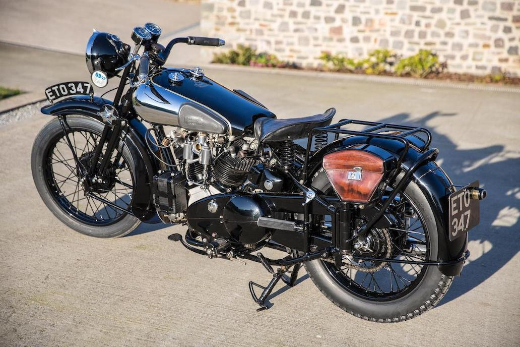 Brough Superior SS100: Ex Henry Laird-5