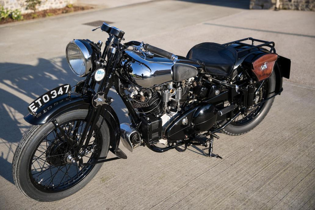 Brough Superior SS100: Ex Henry Laird-6