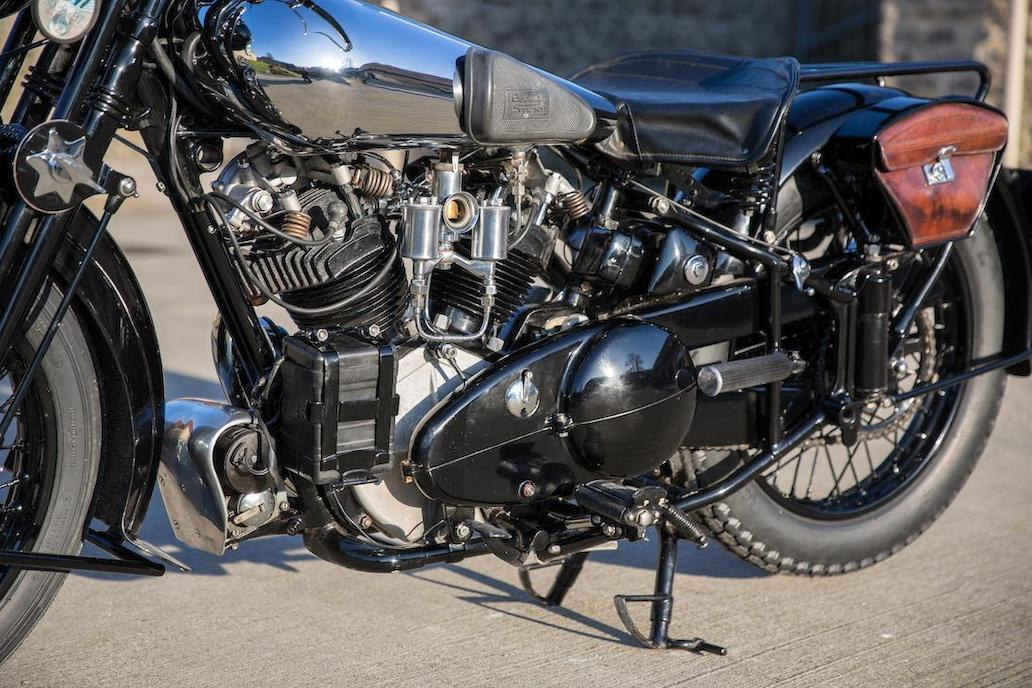 Brough Superior SS100: Ex Henry Laird-8