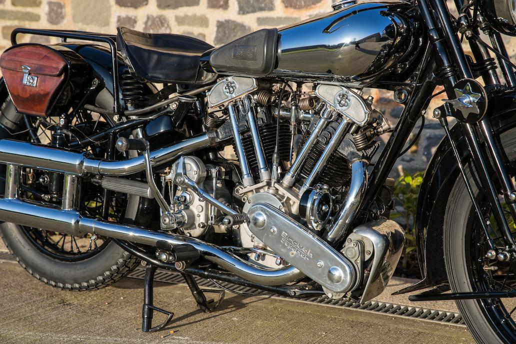 Brough Superior SS100: Ex Henry Laird-9