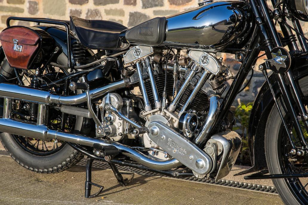 Brough Superior SS100: Ex Henry Laird-9