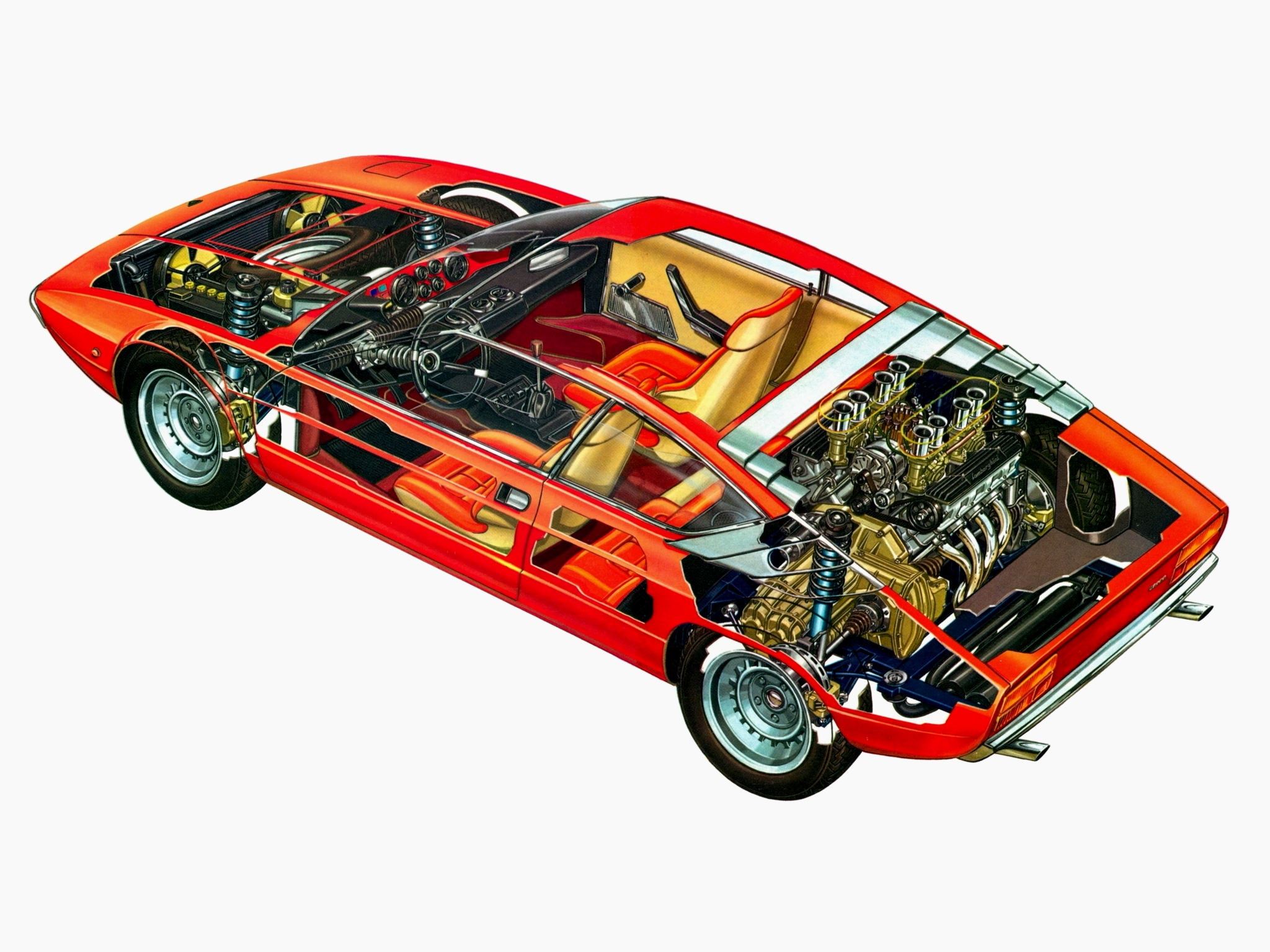 Lamborghini Urraco P250 Barn Find Revivaler