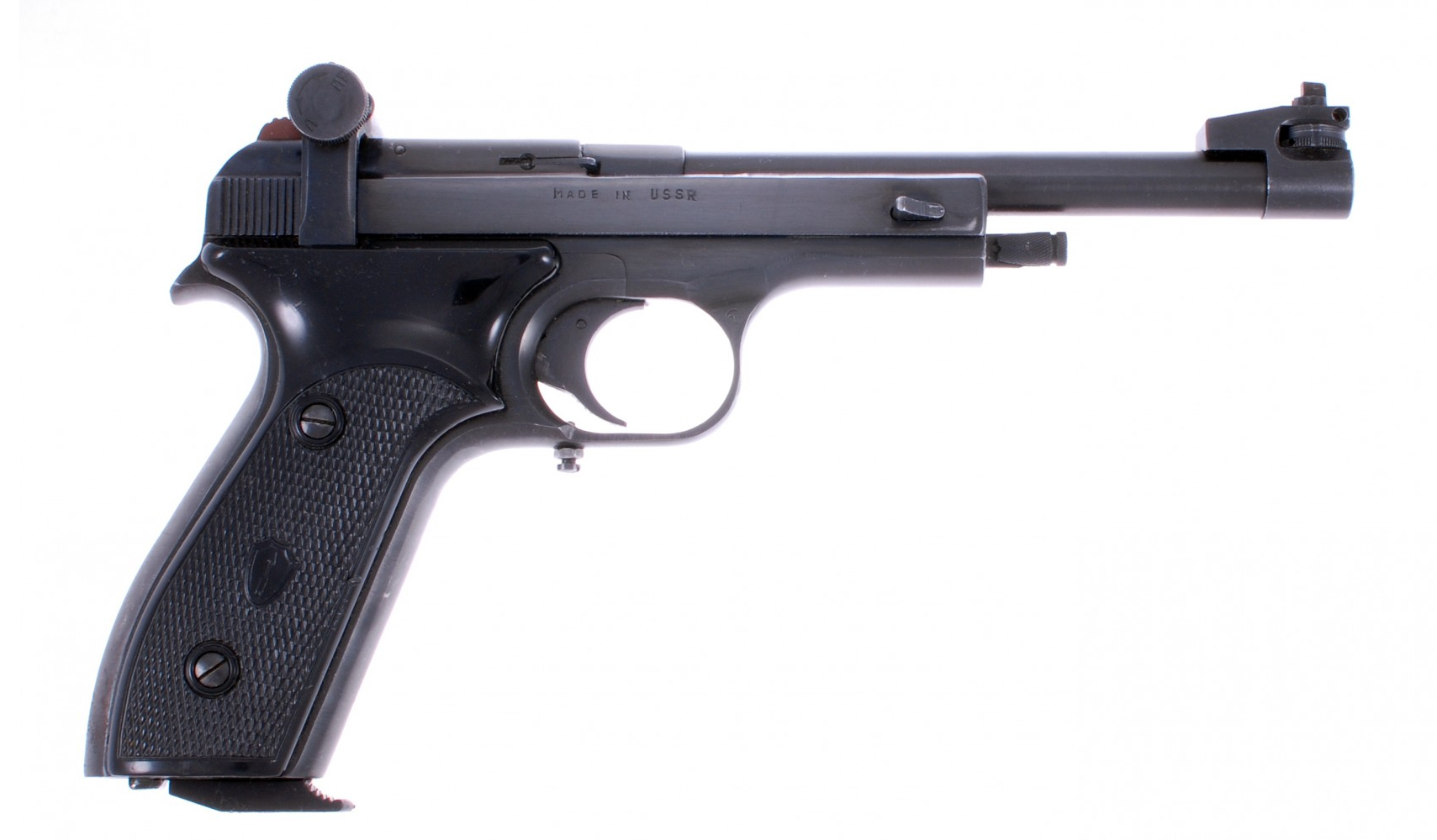 The Margolin MCM 22lr version for the ISSF Standard Pistol Match. (Picture courtesy panzer.cz)