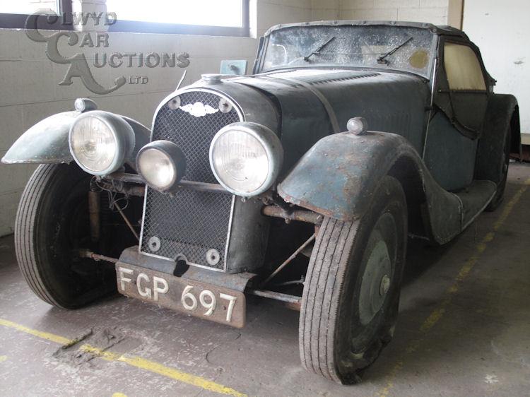 1938 Morgan 4-4 Barn Find-002