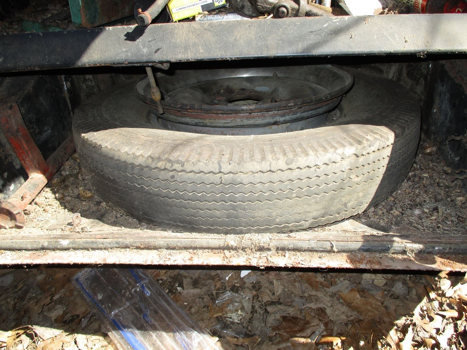 The spare tyre might need replacement!