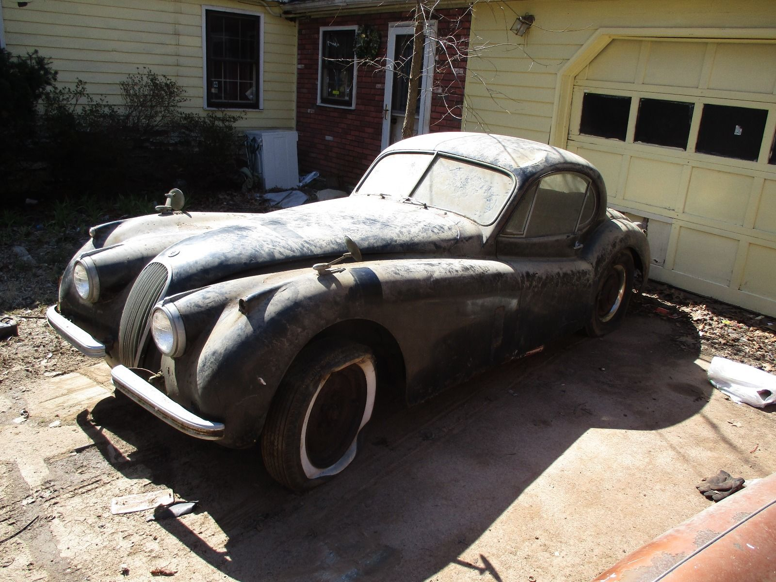Can you imagine what this car will look and sound like if it is restored?
