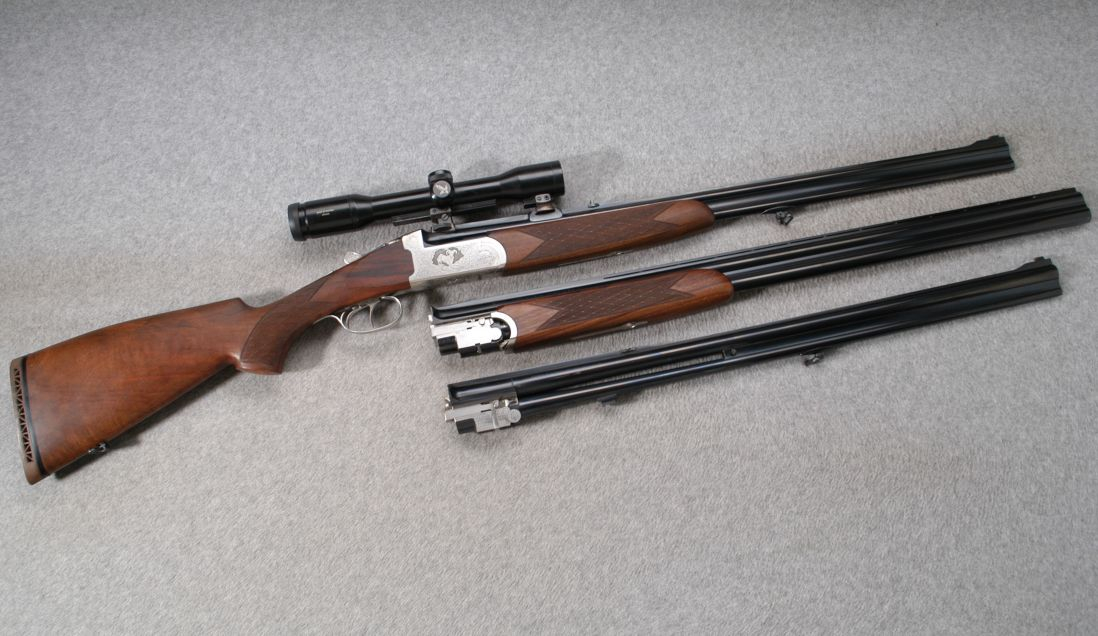 Antonio Zoli Combination Gun Rifle Set Revivaler