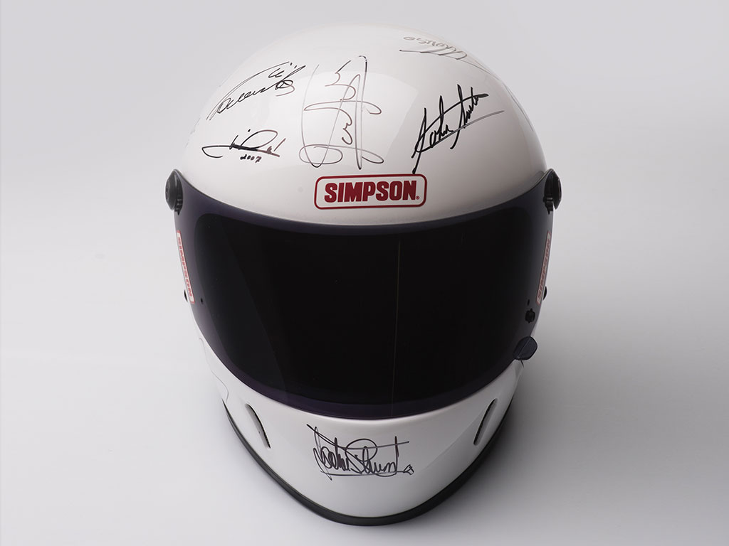 Formula 1 Champions-Signed Helmet_003