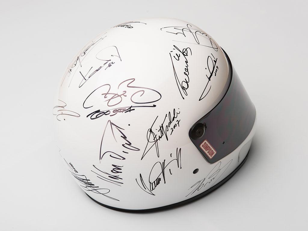 Formula 1 Champions-Signed Helmet_005