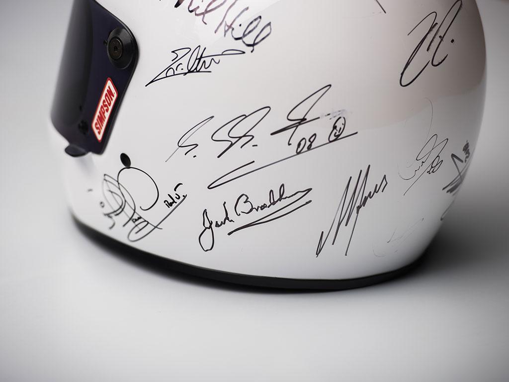 Formula 1 Champions-Signed Helmet_007