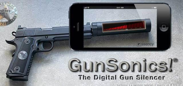 GunSonics iPhone App-1