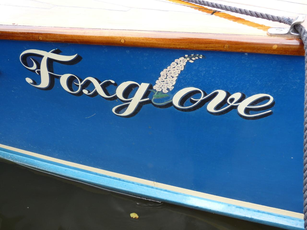 """Hobbs slipper stern launch """"Foxglove""""-3cr"""
