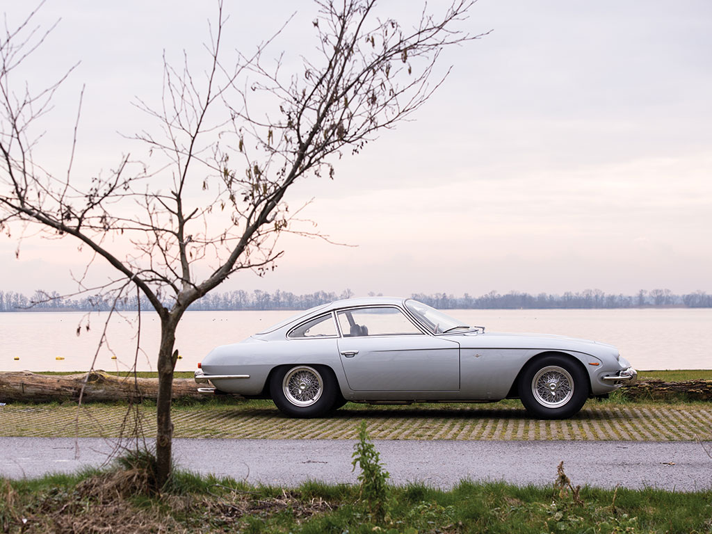 The Lamborghini 350GT has a timeless style about it.