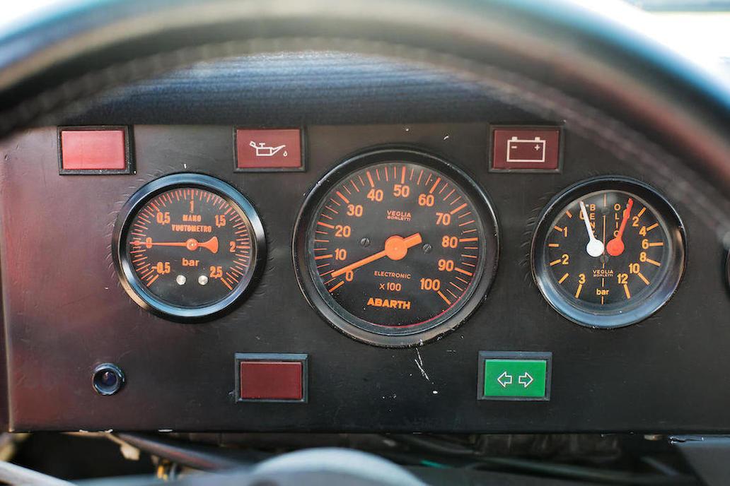 Speedometer? Where we're going we won't need a speedometer!