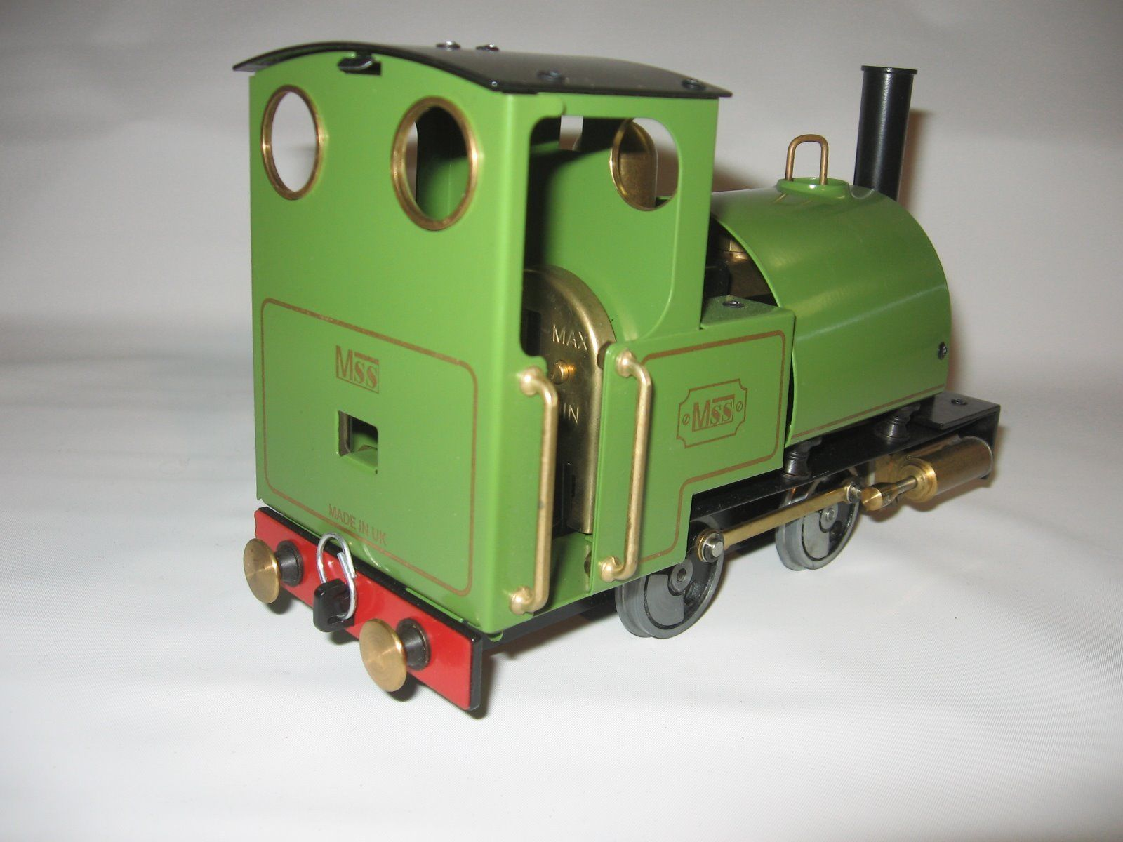 Mamod MSS Live Steam Locomotive Train Set-5