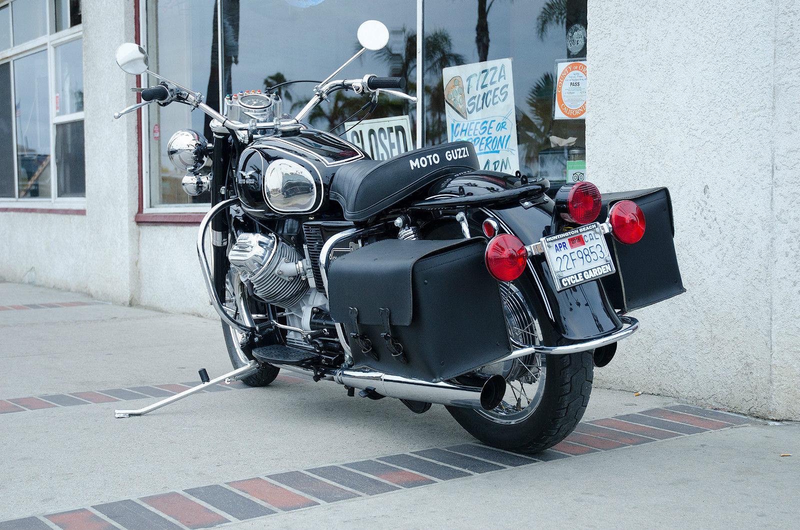 The Moto Guzzi Eldorado is a bike that instills rider confidence.