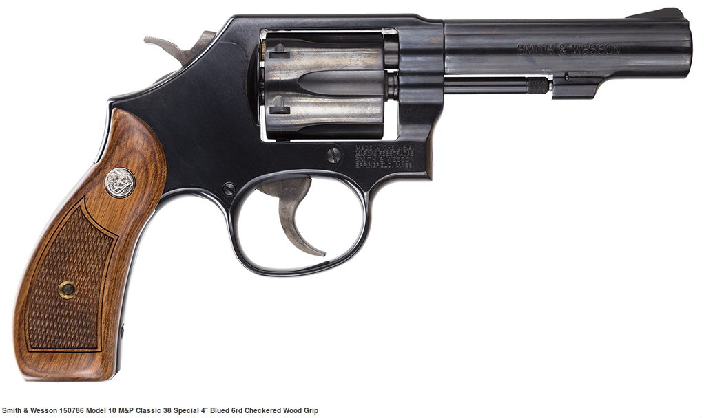Current production Smith & Wesson Model 10. (Picture courtesy thescopesmith.com).