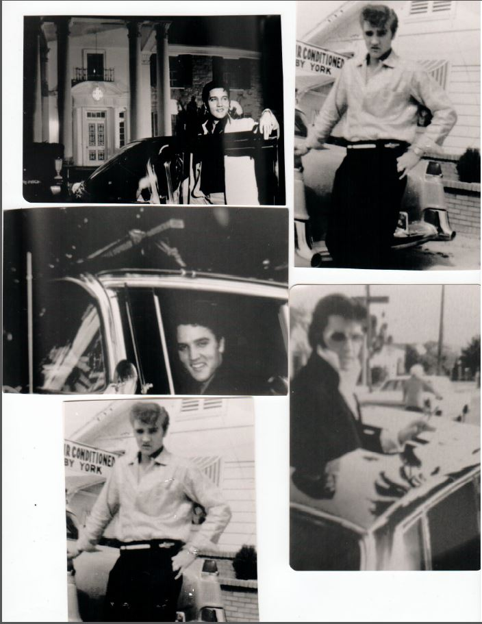 The Caddy comes with some photographs which show Elvis with a car that looks like the sale car.