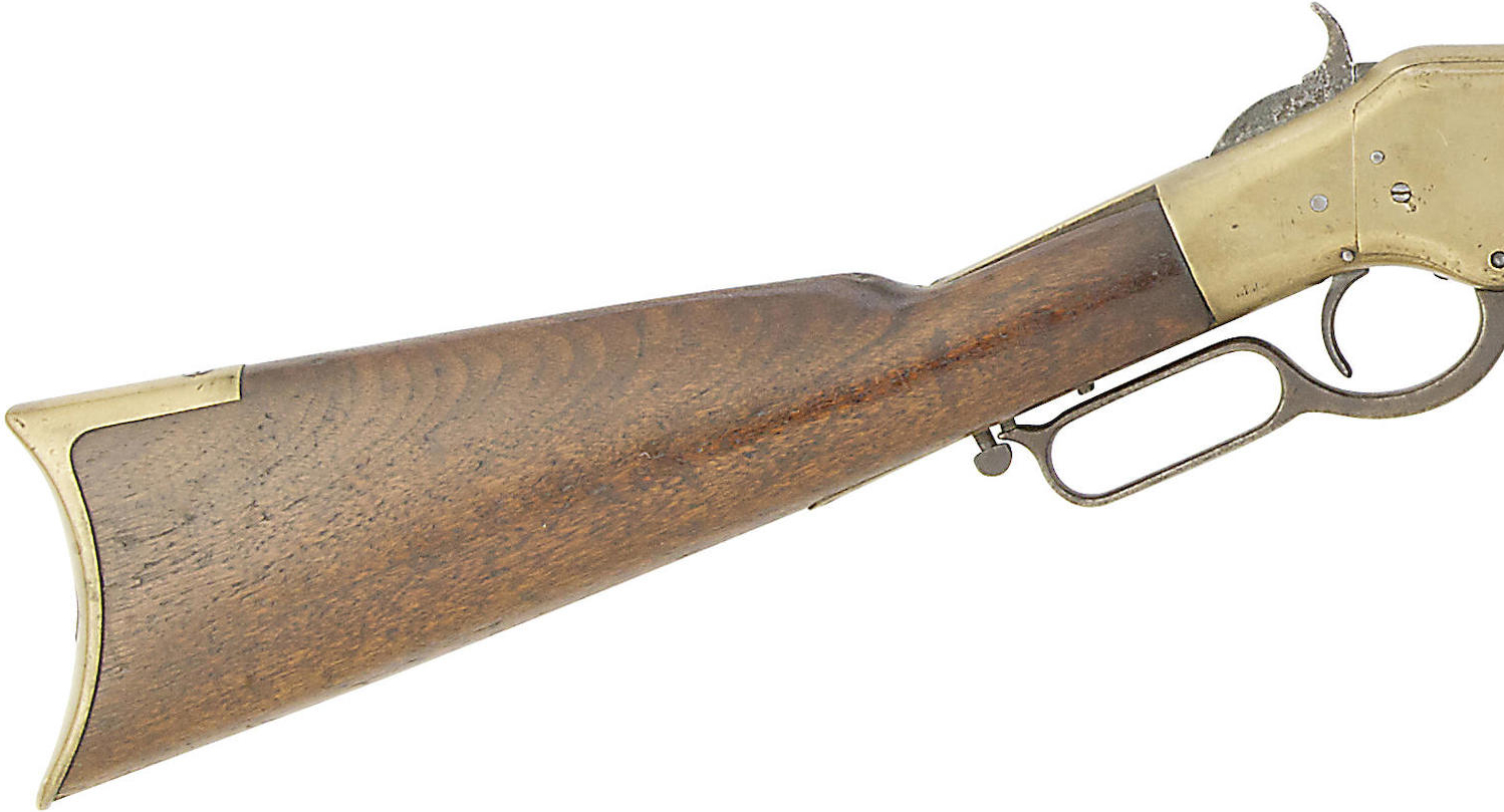 44 Winchester 1866 Third Model 'Yellow Boy'-4