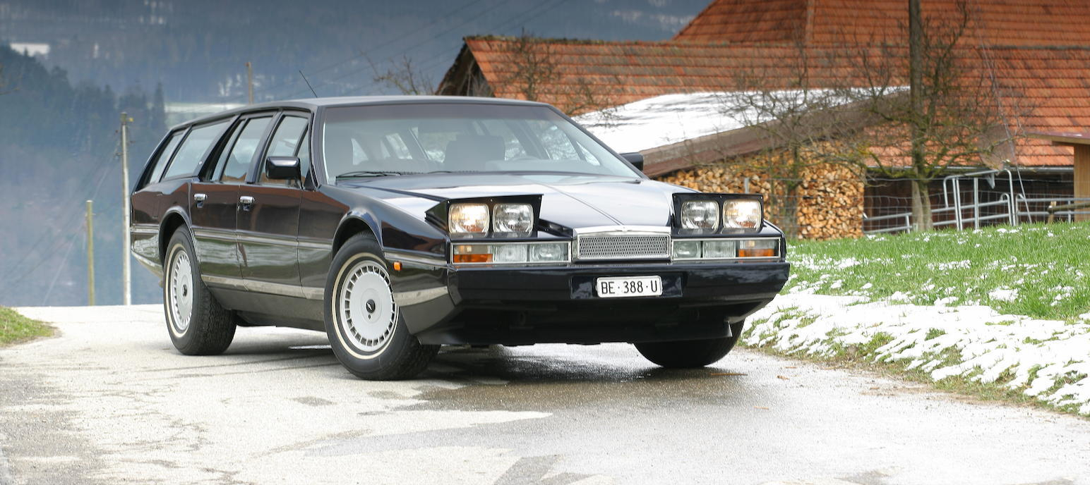 William Town's design of the Aston-Martin Lagonda was and is futuristic and startling.