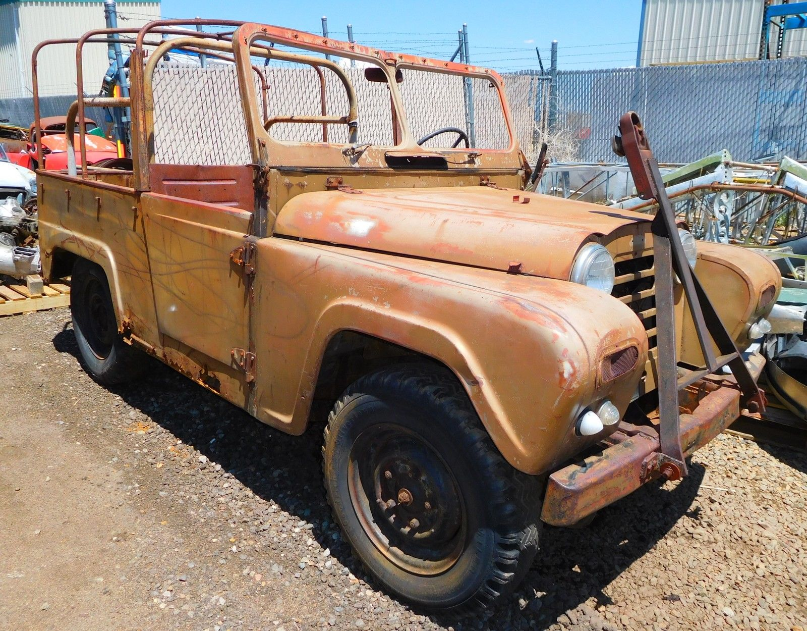 There is some rust in this Austin Gipsy but it looks repairable. (Picture courtesy eBay).