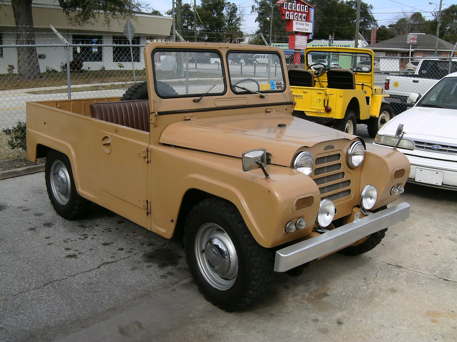 An example of a restored Austin Gipsy. (Picture courtesy hooniverse.com).
