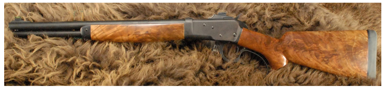 "Big Horn Armory Model 89 carbine with 18"" barrel and 7 shot magazine. (Picture courtesy Big Horn Armory)."