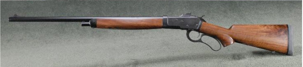 "The Big Horn Armory Model 89 rifle has a five round magazine and 22"" barrel. (Picture courtesy Big Horn Armory)."