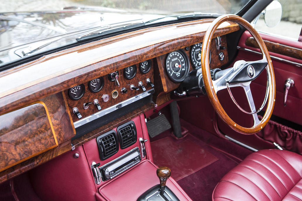 If ever there was an example of what a car interior should look like this is it.