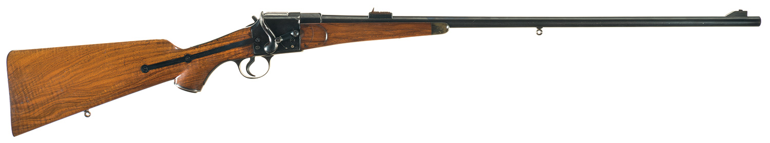 The Holland and Holland Field patent rifle on sale by Rock Island Auction. (Picture courtesy Rock Island Auction).