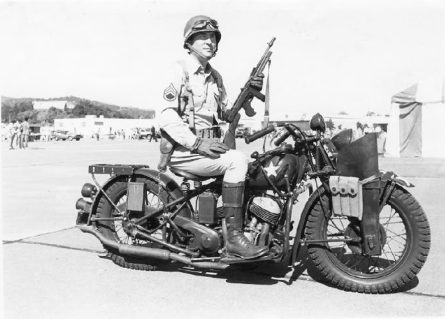 Indian's first effort at producing a motorcycle for the US Military was the 640. (Picture courtesy g503.com).