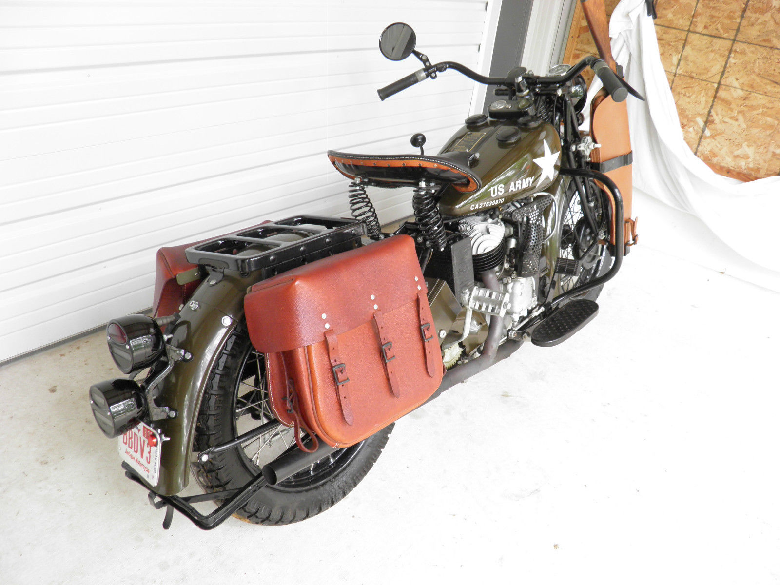 The eBay bike looks to be nicely restored. (Picture courtesy eBay).