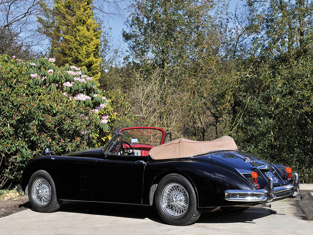 Graceful, with a different kind of beauty to the E Type, the XK 150 is one of William Lyons and his team's best creations.