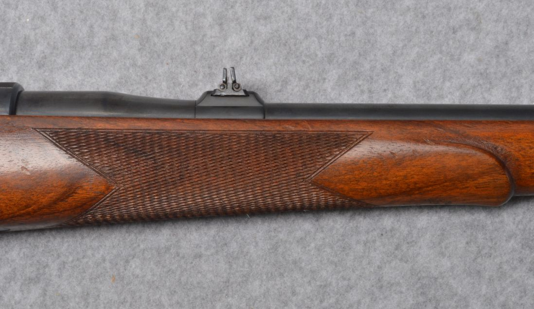 This Mauser is fitted with an interesting twin leaf rear sight. (Picture courtesy Cabela's).
